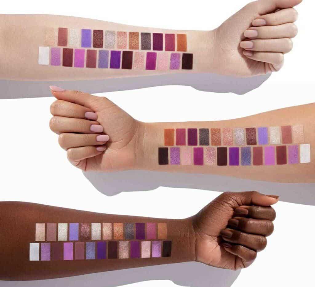 Norvina Pro Pigment Palette Vol. 5 swatches