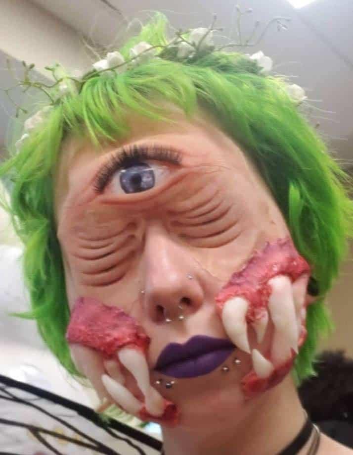 Halloween Tooth Fairy Makeup