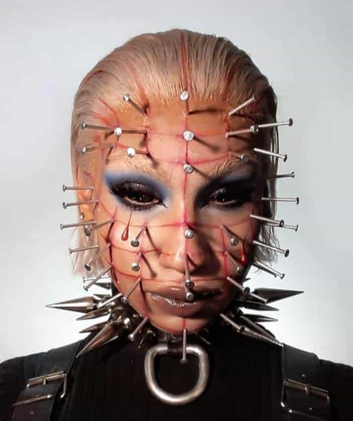 Hellraiser Halloween Makeup