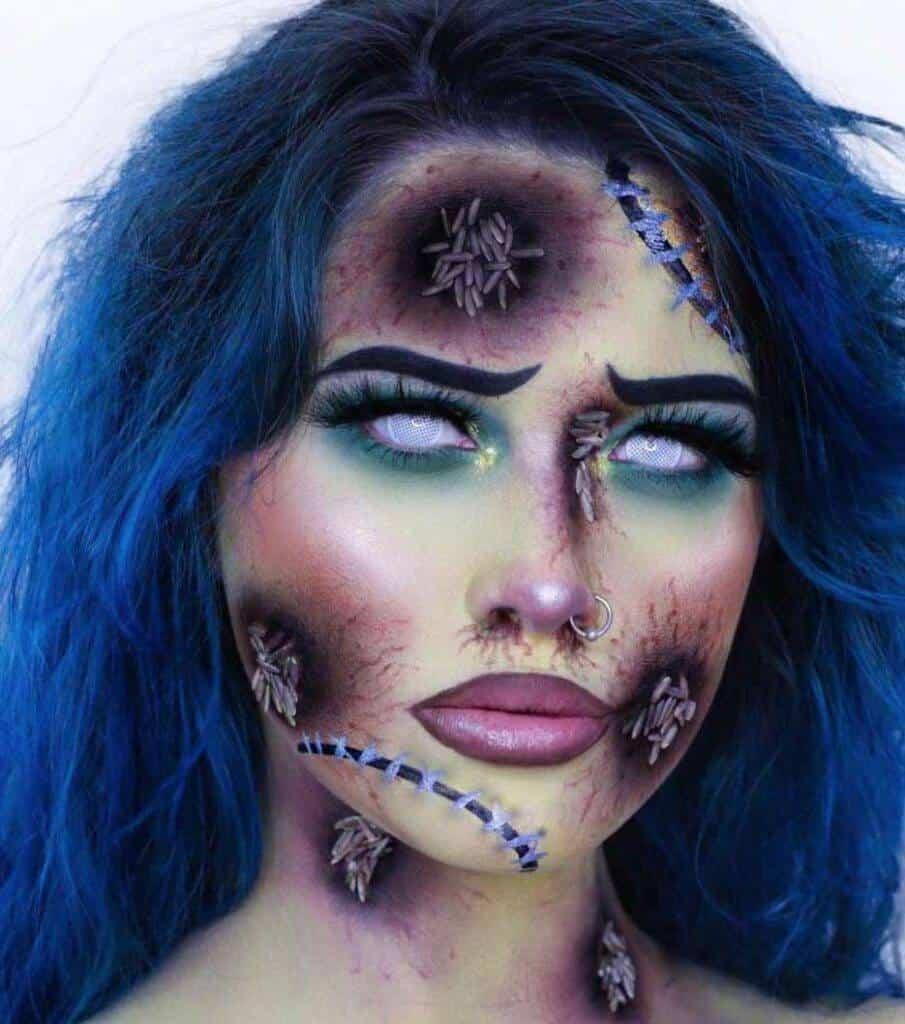 Living Dead Girl Halloween Makeup