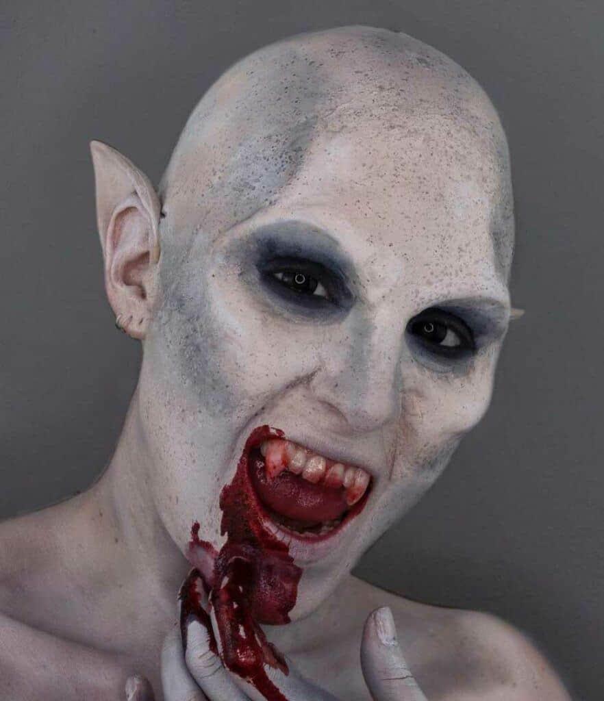 Nosferatu Halloween Makeup