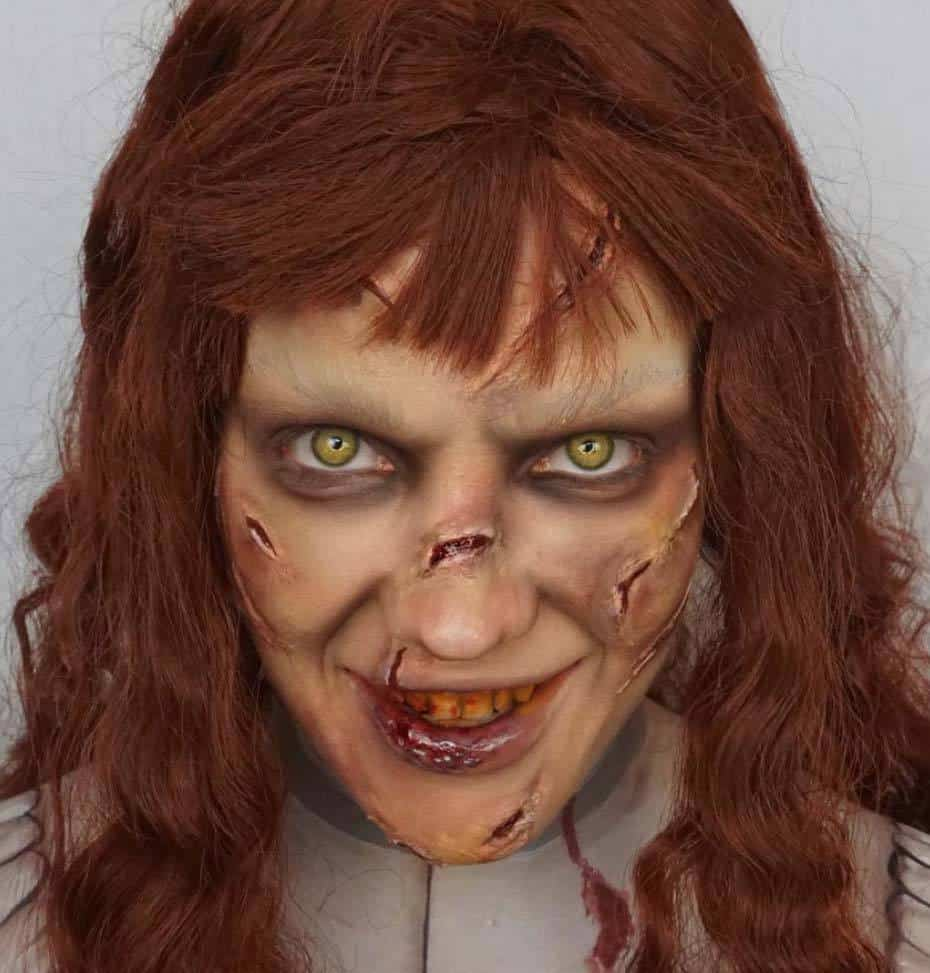 The Exorcist Halloween Makeup