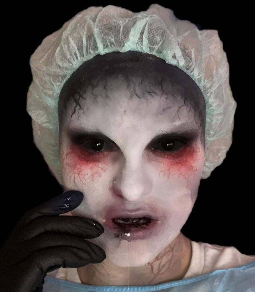 Untreatable Halloween Makeup